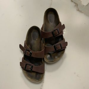 Birkenstock Brown Two Strap Sandals